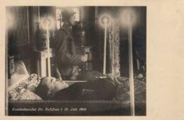 AK - Bundeskanzler Dr. Dollfuss - 25.Juli 1934 - Persönlichkeiten