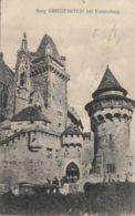 AK- NÖ - Besucher Bei Der Burg Kreuzenstein (Bez. Korneuburg) - 1911 - Korneuburg