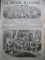 LE MONDE ILLUSTRE1864 /AMBASSADEURS JAPONAIS /EVENEMENT DE POLOGNE /GUERRE DU DANEMARCK - Journaux - Quotidiens