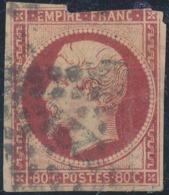 FRANCE - 1854, Mi 16, Oblitere - 1853-1860 Napoléon III