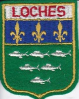 ECUSSON - TISSU BRODE  - LOCHES - Dimension: 5CMS X 6CMS - Patches