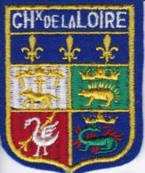 ECUSSON - TISSU BRODE  - CHx De La LOIRE - Dimension: 5CMS X 6CMS - Patches