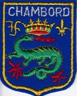 ECUSSON - TISSU BRODE  - CHAMBORD - Dimension: 5CMS X 6CMS - Patches