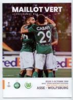 FOOTBALL PROGRAMME 2019 ASSE ST ETIENNE WOLFSBURG EUROPA LEAGUE TBE - Other