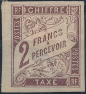 FRANCE COLONIES - 1884, Mi P13, Neuf* - Postage Due