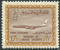 Saudi Arabia 1966. Michel #257 MNH. Boeing 720-B (В13) - Saudi-Arabien
