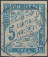 FRANCE COLONIES - 1893, Mi P15, Oblitére - Postage Due