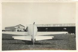 AVION DEWOITINE 500  PHOTO ORIGINALE FORMAT 9 X 6 CM - Aviation