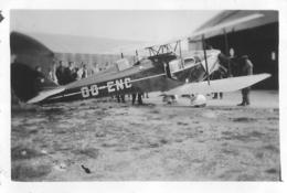 AVION FOX MOTH PHOTO ORIGINALE FORMAT 9 X 6 CM - Aviación