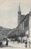 Bagneres De Bigorre. L'église Et L'hotel Beau Séjour. - Bagneres De Bigorre