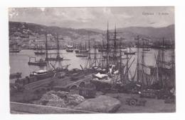 Liguria Genova Il Porto N°30 B & C Zürich En 1925 Bateaux Voiliers Wagons Couverts Attelage Matériaux VOIR DOS - Genova (Genoa)