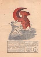WWII WW2 Flugblatt Tract Leaflet Листовка German Propaganda Against URSS  CODE 149 R (FREE SHIPPING WORLDWIDE) - 1939-45