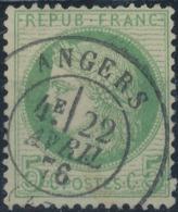 FRANCE - 1872, Mi 48, Oblitére - 1871-1875 Cérès