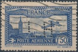 FRANCE - 1930, Mi 255, Perfin, Oblitére - France