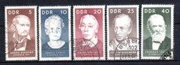 DDR  1293 - 1297  Gestempelt - DDR