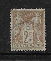 France Type Sage De 1900 N°105 Type I Oblitéré Cote 55€ - 1898-1900 Sage (Type III)