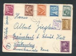 Österreich Zensur     ...netter Beleg ... (op481  ) Siehe Scan - 1945-60 Briefe U. Dokumente