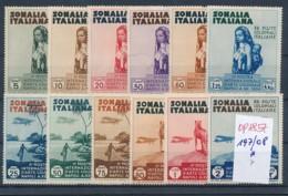 Italien-  Somalia  197-208  ....(op1857   ) Siehe Scan - Somalia