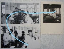 Photox3 Autposie Autopsy ? Post Mortem Dissection Circa 1940-50 Belgium Medicine Médecine Doctor Docteur - Fotos