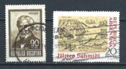 ARGENTINA 1969 (O) USADOS MI-967II+1018 YT-870+875 VARIOS - Usati