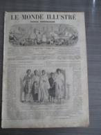 LE MONDE ILLUSTRE1864 / FILS DU ROI DE TOMBOUKTOU/ CONFLIT DANO ALLEMAND/ EVENEMENT DE POLOGNE ... - Journaux - Quotidiens