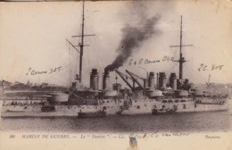 Thematiques Bateau Marine De Guerre Le Danton - Guerra