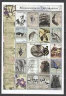 X885 MONGOL POST MILLENNIUM OF EXPLORATION CHARLES DARWIN 1809-1882 1SH MNH DAMAGED EDGES - Storia
