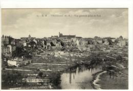 Carte Postale Ancienne Thouars - Vue Générale Prise Du Sud - Thouars