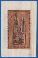 Deutschland; Nürnberg; Echt Kupfer; Doppeltkarte; St. Lorenzkirche - Nürnberg