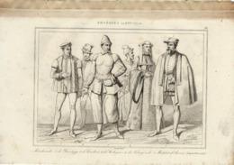 ANVERS ANSEATES AU XVIe SIECLE 1835 INCISIONE DI LEMAITRE - Prints & Engravings