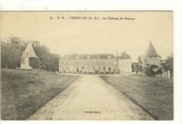 Carte Postale Ancienne Thouars - Le Château De Marsay - Thouars