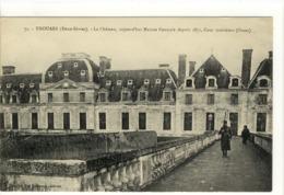 Carte Postale Ancienne Thouars - Le Château Aujourd'hui Maison Centrale Depuis 1871 - Prison - Thouars