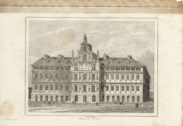 ANVERS HOTEL DE VILLE 1835 INCISIONE DI LEMAITRE - Prints & Engravings