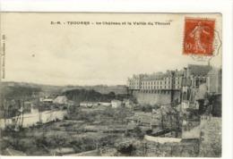 Carte Postale Ancienne Thouars - Le Château Et La Vallée Du Thouet - Thouars