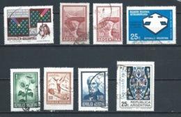 ARGENTINA 1971 (O) USADOS MI-1081+1084+1088+1094+1099+1100+1116 YT-882+886+891+883+887+888+909 VARIOS - Argentina