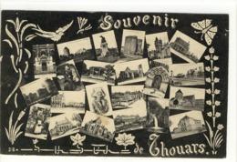 Carte Postale Ancienne Fantaisie Thouars - Souvenir - Multivues - Thouars
