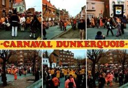 """CPM - DUNKERQUE - CARNAVAL - Le Célèbre """"VISSCHER BENDE"""" ... Multivues - Dunkerque"""