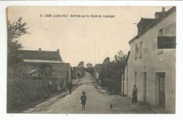 JANS (44) Arrivée Par La Route De Lusanger  -  TABAC  -  CAFE ( Faute Dans Le Mot Arrivée Avec 3 R ) - France