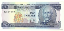 Barbados - 2 Dollars 1986 - Barbados