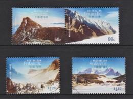 Australian Antarctic 2013 Mountains Set Of 4 Used - Australian Antarctic Territory (AAT)