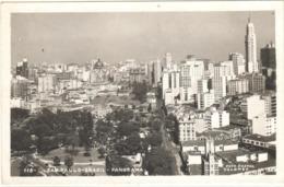 POSTAL    SAO PAULO  -BRASIL -PANORAMA  (FOTO POSTAL COLOMBO) - São Paulo