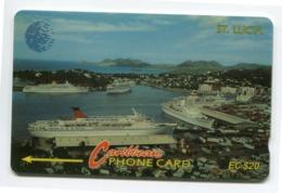 Telecarte °_ Sainte-Lucia-Le Port Touristique- R/V 4326 - Sainte Lucie