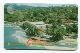Telecarte °_ Sainte-Lucia-Vue Aérienne- R/V 8065 - St. Lucia