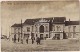 Memel.Klaipeda.City Theater With Monument. - Litauen