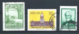 ARGENTINA 1974+1975 (O) USADOS MI-1192+1201+1177 YT-992+990+976 VARIOS - Argentina