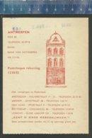 BOEKHANDEL J. DE SLEGTE ANTWERPEN ANTIQUARIAAT AMSTERDAM ARNHEM DEN HAAG ROTTERDAM UTRECHT AANKOOPBON - Printing & Stationeries