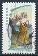 France - La Musique, Tambourin YT A400 Obl. Cachet Manuel Rond - Francia