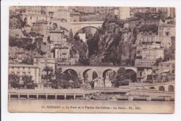 CP MONACO Le Pont Et Le Viaduc Ste Devote Le Ravin - Monaco