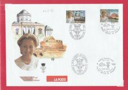 FDC ITALIA 1997 - 425 - PAOLA RUFFO DI CALABRIA- Emis.Cong.ITALIA-BELGIO Roma 23.5.97. 2 V. Su Busta Uff. POSTE ITALIANE - F.D.C.