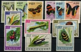 Venezuela Nº 731/3, 758/60, 873/75, 947/9. Año 1966/68 - Venezuela